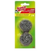 Esponja Acero Doble 30g Scotch Brite
